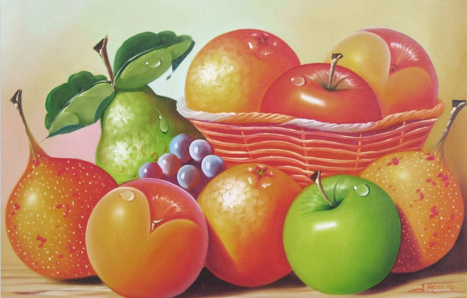 Bodegon de frutas images galleries - Pinturas para cocina ...