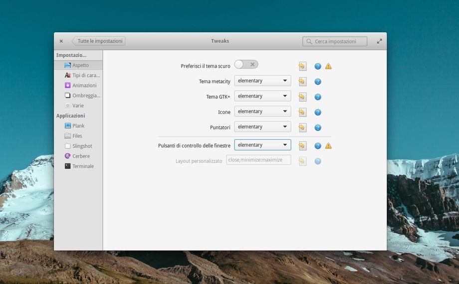 Elementary Tweaks in elementary OS 0.3 Freya