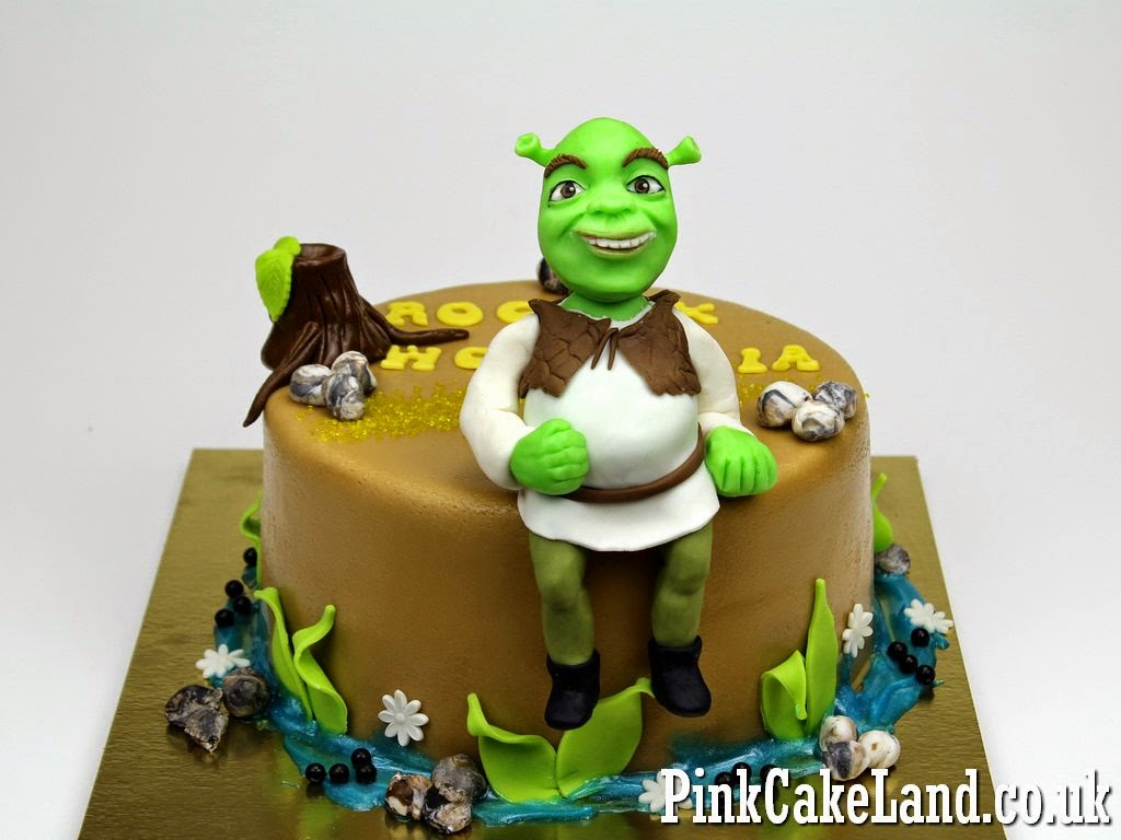 Shrek Cake, Ealing London