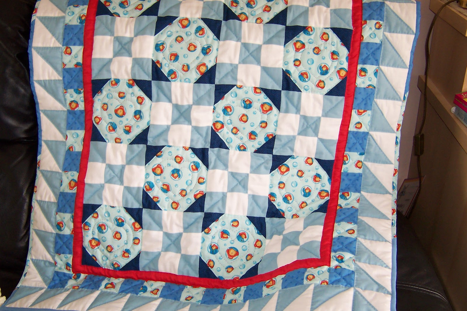 The Nifty Stitcher: Baby/Children's Quilts : paddington bear quilt - Adamdwight.com