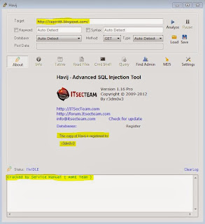 Download Havij v1.16 Pro Portable + Google Dork