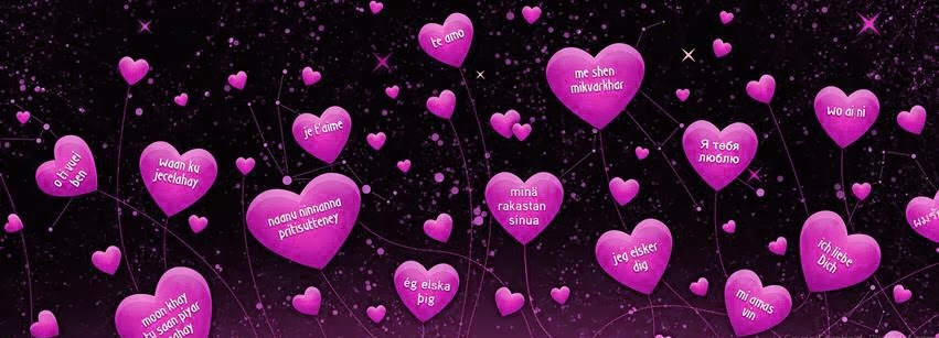 nice love facebook cover pink color