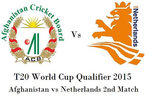 Afghanistan vs Netherlands 2nd Match