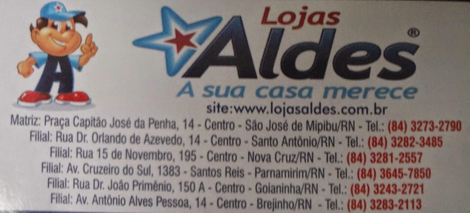 LOJAS ALDES A SUA CASA MERECE