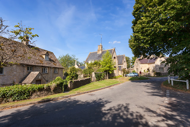 The Oxfordshire Cotswold village of Swinbrook by Martyn Ferry Photography