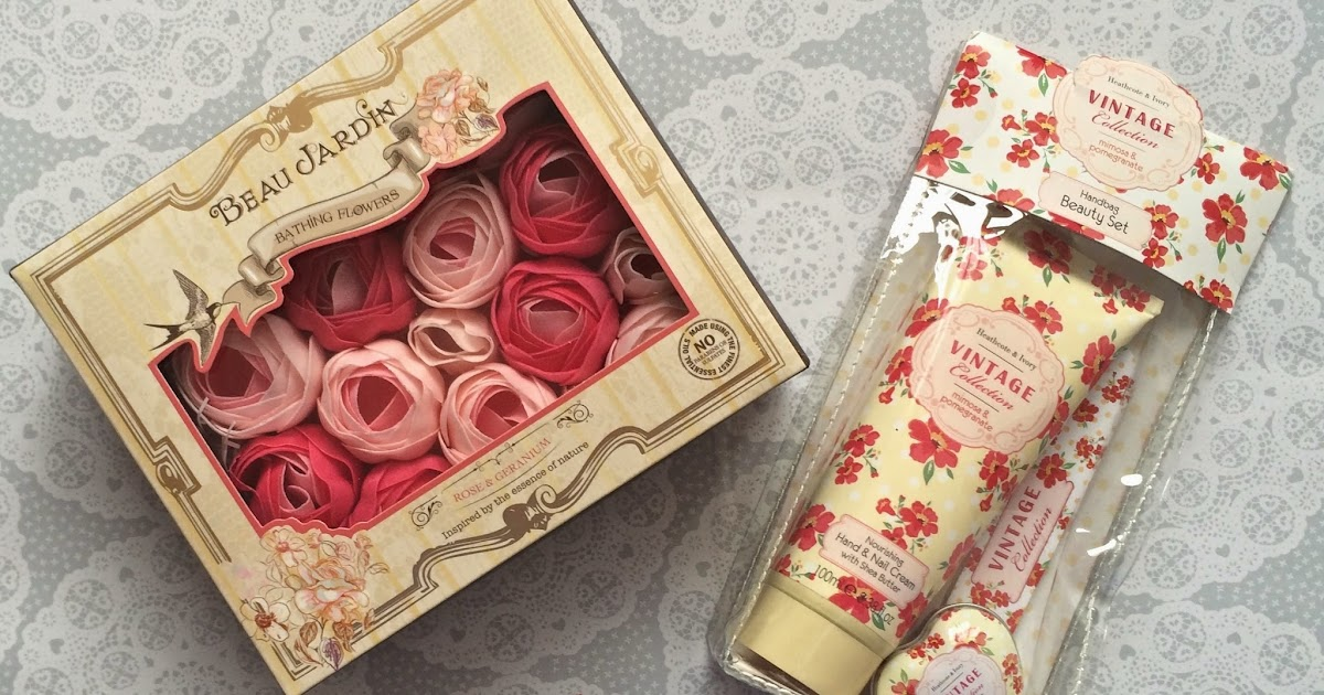 flutter and sparkle: Beauty: pretty gifts from Heathcote & Ivory