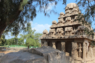 Mahabalipuram Five Rathas