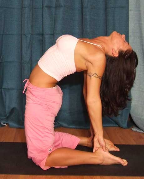 Most Beautiful And Sexiest Women Yoga Coaches And Poses Ustrasana (Camel Pose)