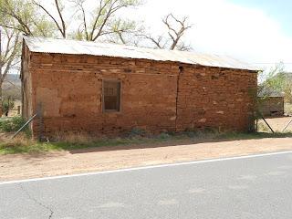 old adobe ruins