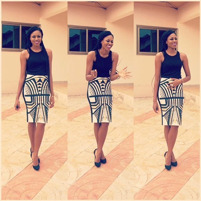 Yvonne Nelson's Sunday Outfit