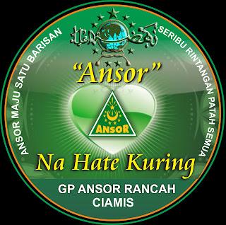 Pembuatan Design Stiker : GP Ansor Rancah
