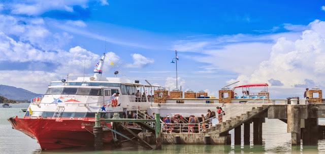 Comment aller de Koh Phangan à Krabi, Koh Lanta, Koh Phi Phi ou Railay