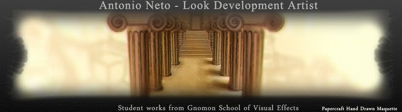 Antonio Neto - VFX Artist Portfolio