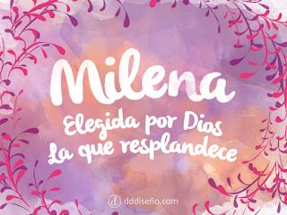 Significado de Milena