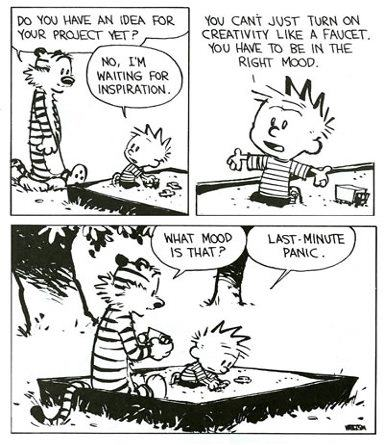 Calvin & Hobbes teach you the secret of creativity