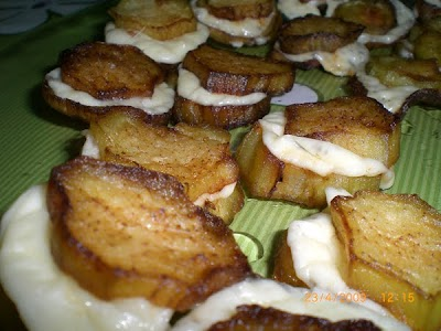 Kaşarlı Patlıcan Kızartması