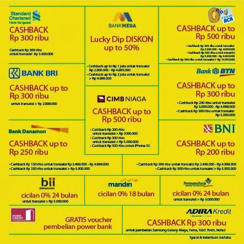 Kartu Kredit Promo di MBC (Mega Bazaar Consumer Show) 2014