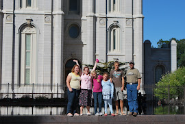 Family at The Salt Lake City Temple