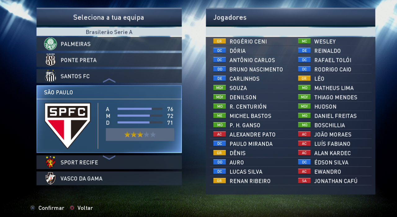 PES 2015 Tuga Vicio v2.1 Terbaru screenhsot
