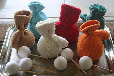 Κούκλες φτιαγμένες από γάντια-βήμα 2ο