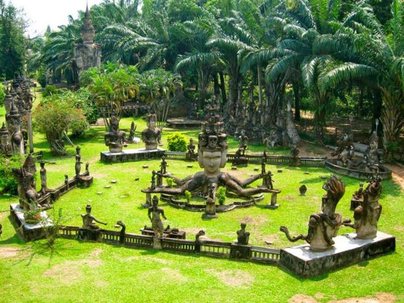 Il Parco di Buddha - Vientiane (Laos)