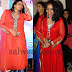 MM Srilekha in Red Salwar Kameez