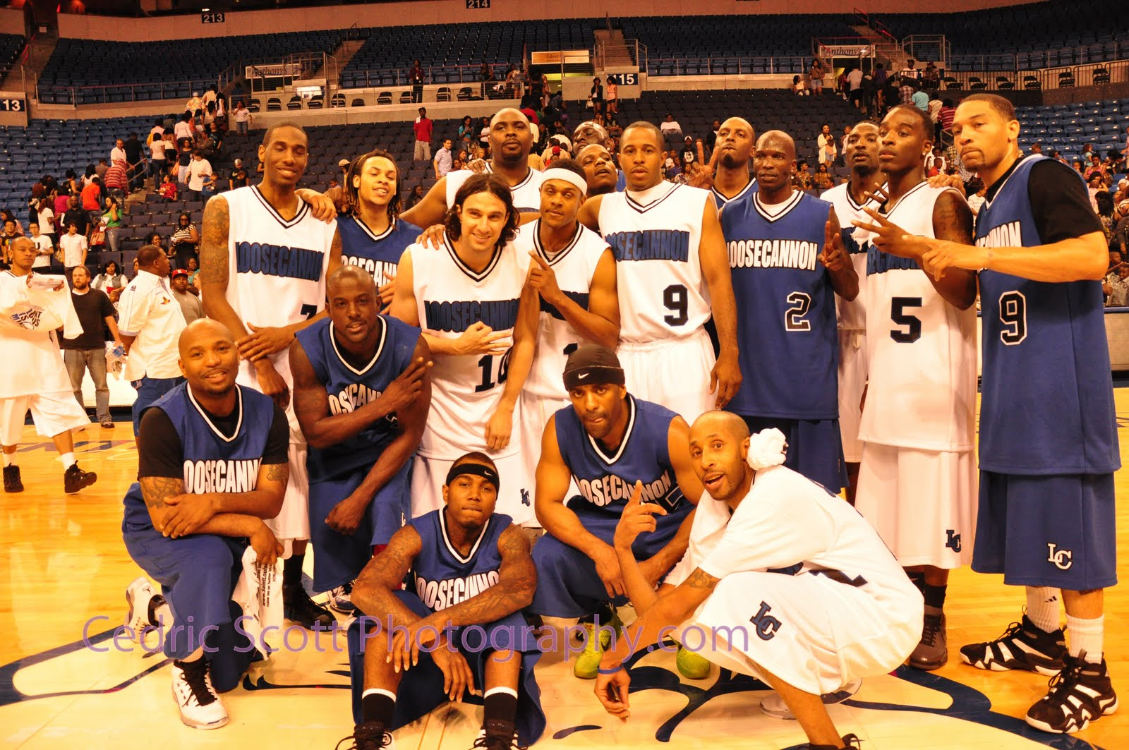 Loose cannon celebrity basketball