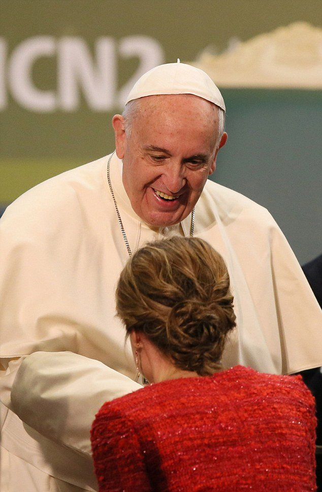 Pope Francis Addresses UN Food Summit In Rome