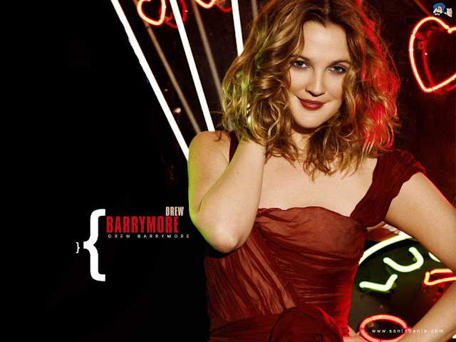 American Actress Drew Barrymore