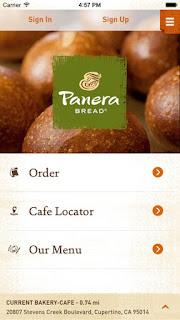 Panera app