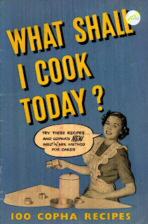 what shall I cook today? Copha booklet 1950