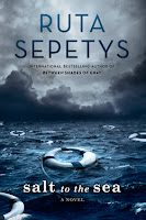Salt to the Sea by Ruta Sepetys book cover and review