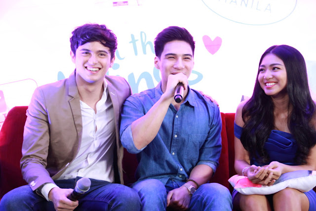 JaDine and Albie Casino