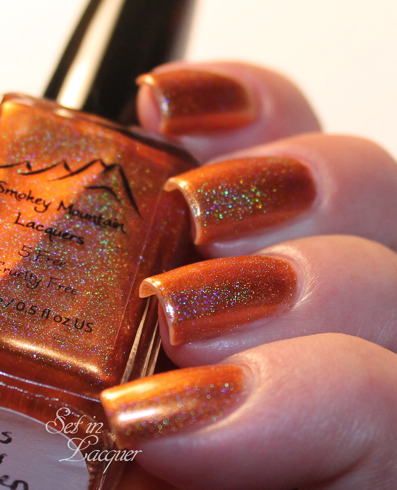 Smokey Mountain Lacquer - Kiss My Aspen - direct lighting