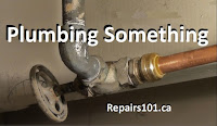 close up of plumbing pipes