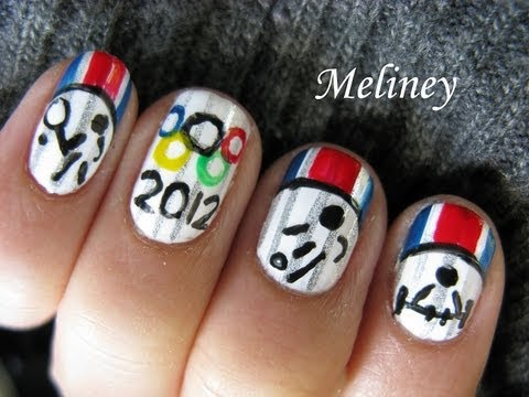 London Olympics 2012 Nail Art Designs