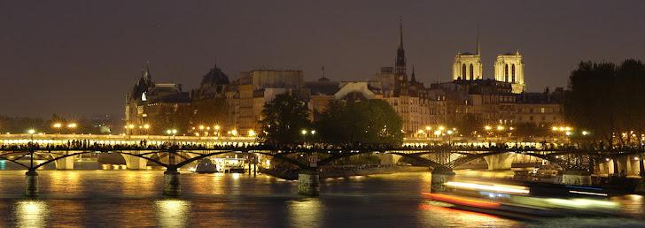 Me gustan los recuerdos de una noche sobre el Sena, en aquel puente escuchando el acordeón...