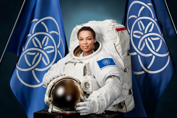 Será esta a bandeira internacional da Terra que iremos colocar em Marte?