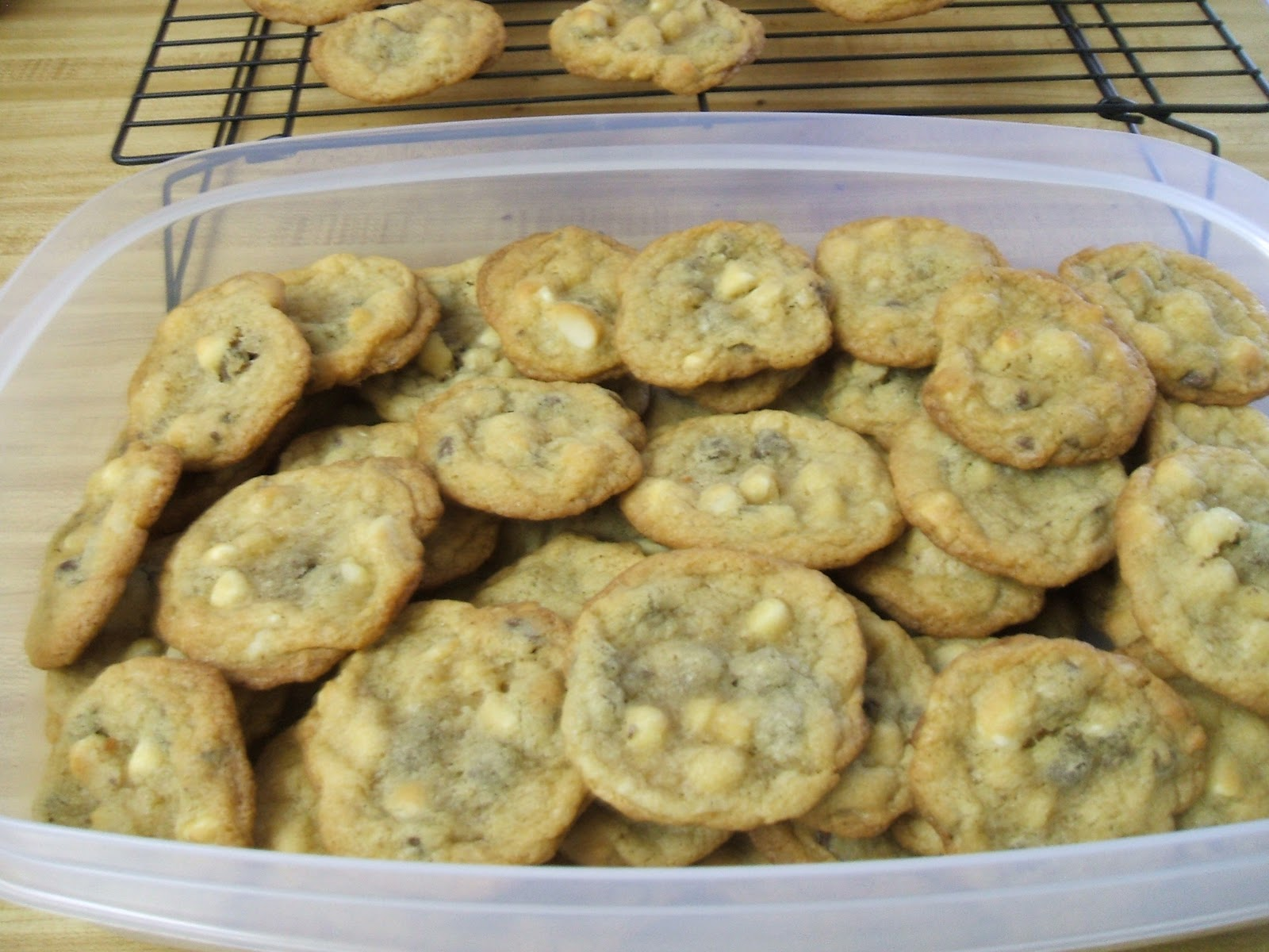 life of an army wife: white and milk chocolate chip macadamia nut
