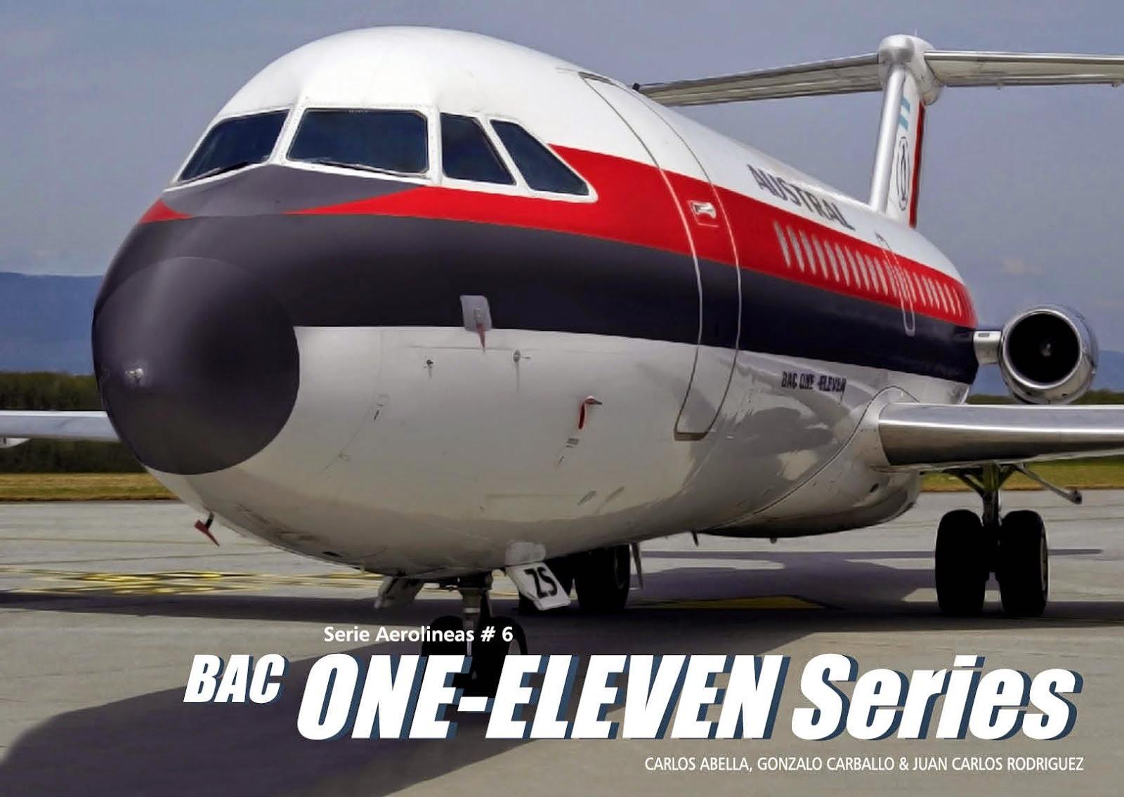 Serie Aerolineas #6 BAC 111 Series en  Sudamérica