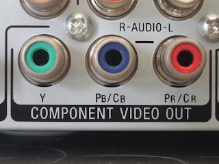 Konektor Component Video