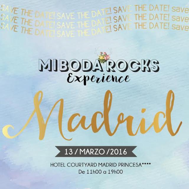Mi Boda Rocks Experience Madrid 13 marzo 2016