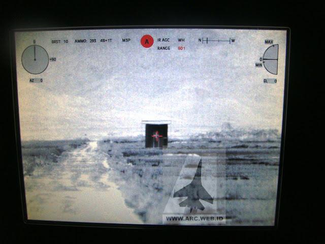 Monitor Infra Red RCWS Defnder dimalam hari
