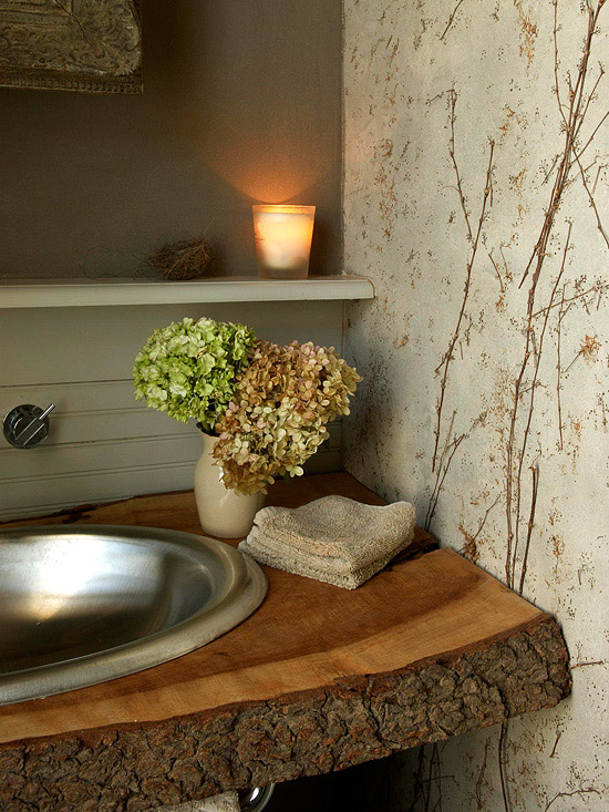 Using Natural Elements To Decorating Your Home New Ideas