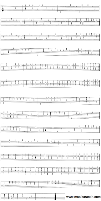 tablature notation rolling stones