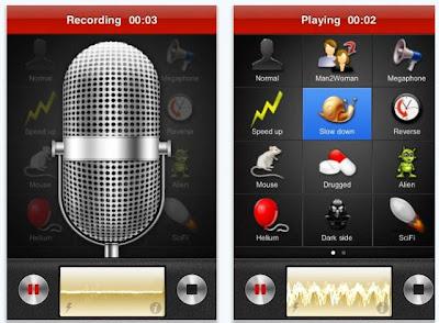تحميل برنامج التلاعب بالصوت أثناء المكالمة Voice Changer مجانا للايفون و الاندرويد