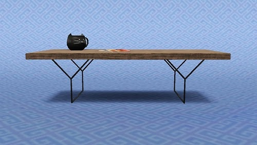 My sims 3 blog bertoia coffee table by quizicalgin - Bertoia coffee table ...