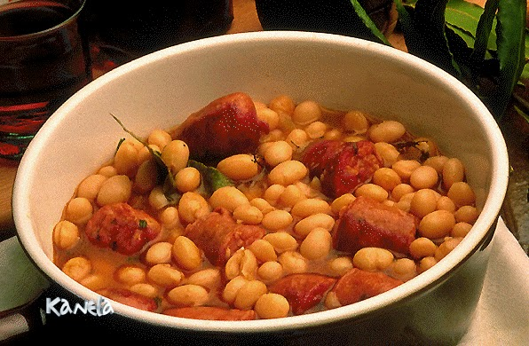 Judias con chorizo microondas kanelamonje recetas de cocina - Judias con chorizo y patatas ...