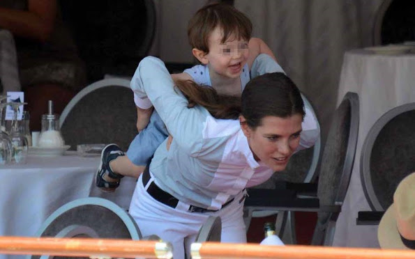 Monaco Royals At Monaco Horse Jumping Competition