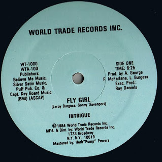 Intrigue - Fly Girl 1984 12 Inch